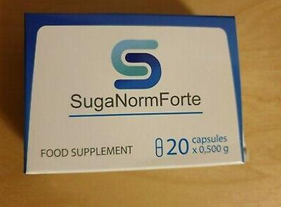 Suganorm tratament pentru glicemie si diabet, ingrediente, prospect