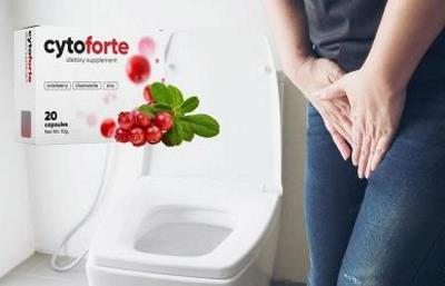 Cyto Forte tratament pentru infectii urinare, ingrediente, Romania