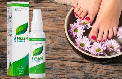 Fresh Fingers spray pentru ciuperca piciorului, ingrediente, Romania