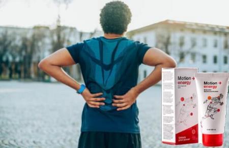 Motion Energy gel pentru dureri de spate si articulati, ingrediente, Romania