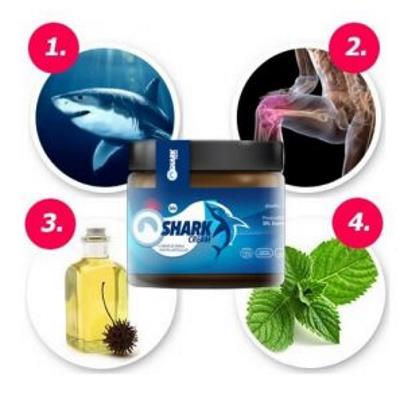 Shark Cream pentru dureri articulare, ingrediente, prospect, Romania