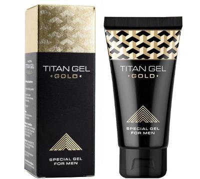 Titan Gel Gold pentru marirea penisului, pret, pareri, ingrediente