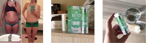 Keto Guru efervescente pentru slabit, ingrediente, mod de administrare