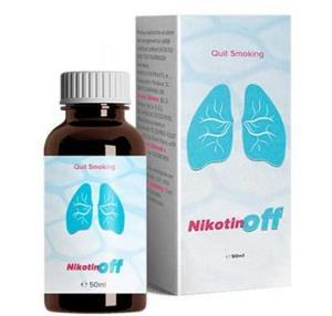 NikotinOff picaturi Antifumat, pareri, pret, farmacii, prospect
