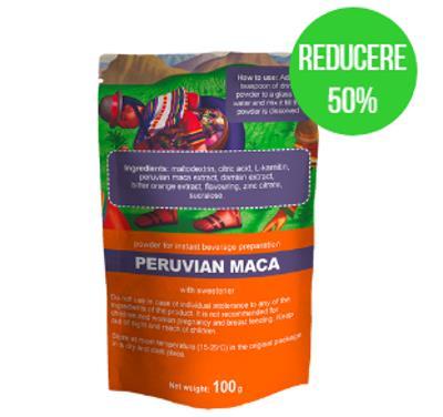 Peruvian Maca imbunatateste functionarea organului genital, ingrediente, prospect