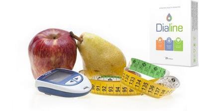 Dialine capsule pentru tratarea si preventia diabetului - Romania, prospect