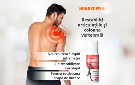 Hondrowell de Dureri Articulare, ingrediente, prospect